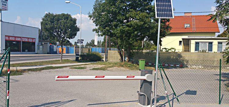Solarschranke / Schrankenanlage