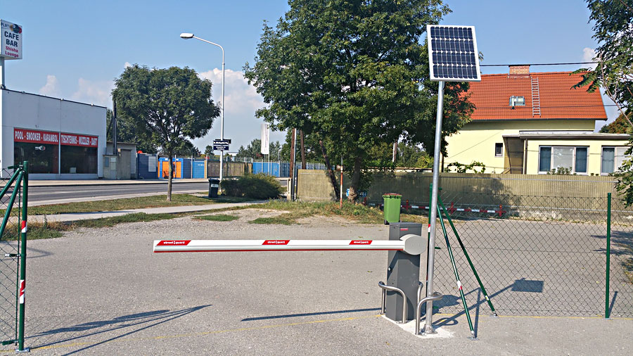 Solarschranke Wien, Österreich